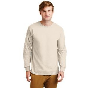 Gildan� Men's Ultra Cotton� 100% Cotton Long Sleeve T-Shirt